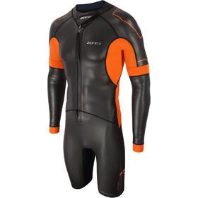 Zone3 Versa Swimrun Wetsuit Men black/orange/gun metal
